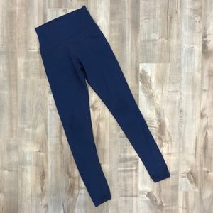 DYI full length high waisted navy leggings